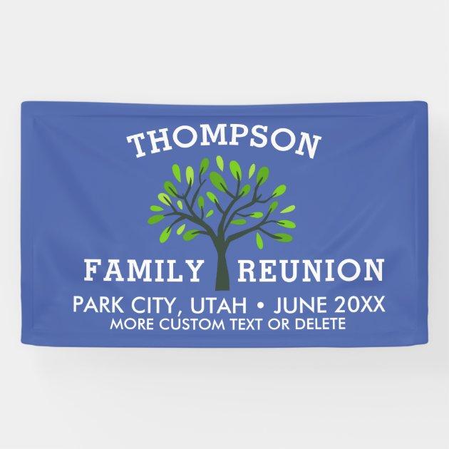 FAMILY TREE REUNION LAST NAME CAR DECAL BUMPER STICKER WALL got thompson