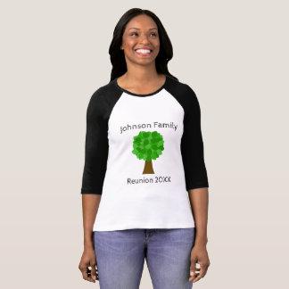 Family Reunion Tree - Customize It! T-Shirt