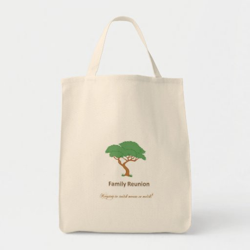 Family Reunion Tree - Grocery Tote Grocery Tote Bag