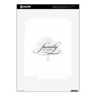 Family Reunion Tree Decal For iPad 3