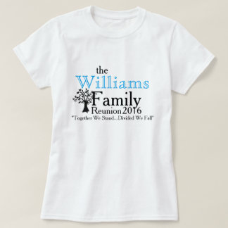 Family Reunion & Tree T-Shirt