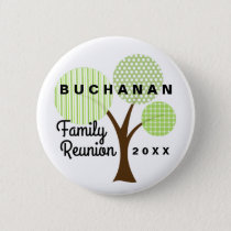 Family Reunion Whimsical Button Souvenir Gift