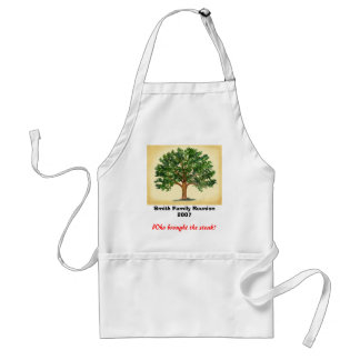 Family Reunion - Who brought the steak? Adult Apron