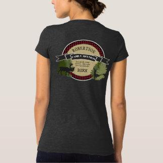 Family Reunion Woodland Deer Antlers Moose Trees T-Shirt