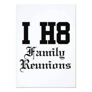 family reunions card