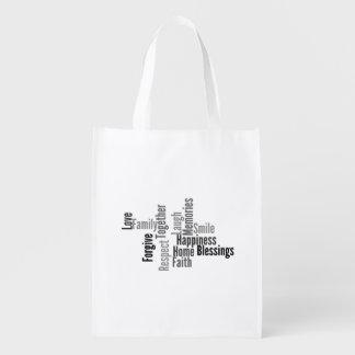 Family Reusable Grocery Bag