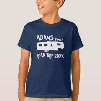 Family Road Trip - 5th Wheel T-Shirt