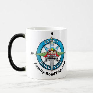 Family-RoadTrip.com Morphing la taza de café