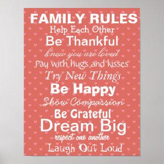 family poster prints