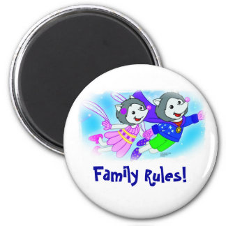 Family Rules! Magnet