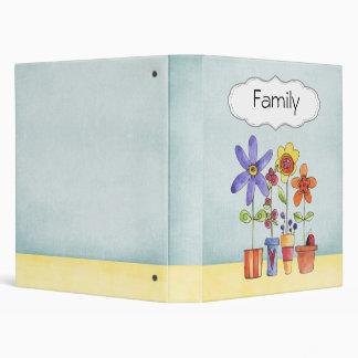Family Scrapbook Vinyl Binder