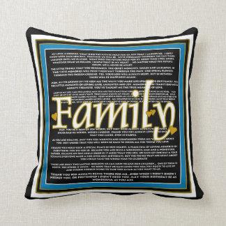 Family Sentiment Pillow