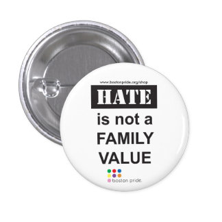 Family Small Pinback Button
