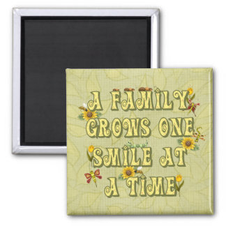 Family Smile Magnets