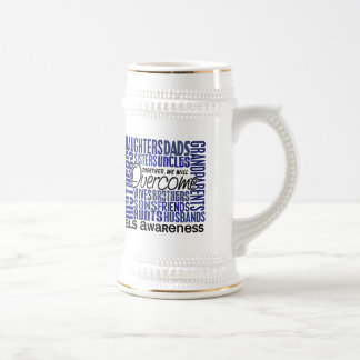 Family Square ALS 18 Oz Beer Stein
