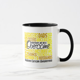 Family Square Bladder Cancer Mug