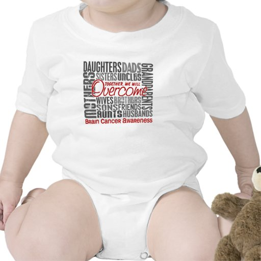 Family Square Brain Cancer Bodysuits