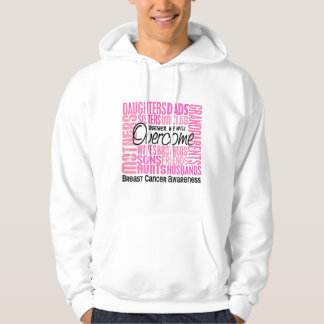 Family Square Breast Cancer Hoodie