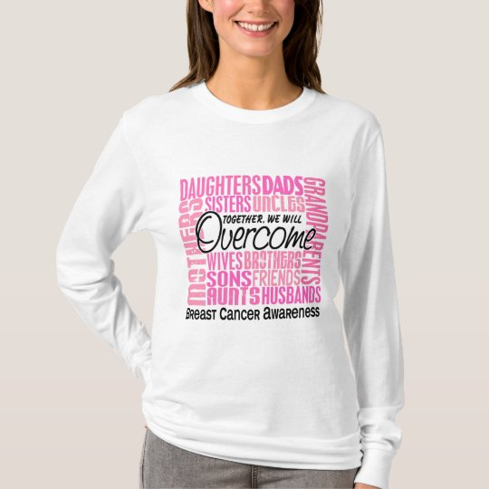 Family Square Breast Cancer T-Shirt