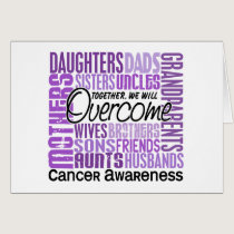 Family Square Cancer Card