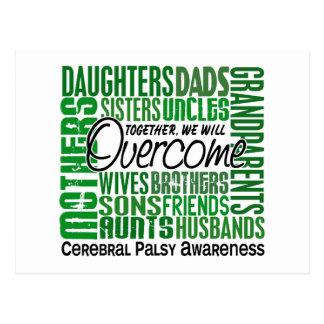 Family Square Cerebral Palsy Postcard