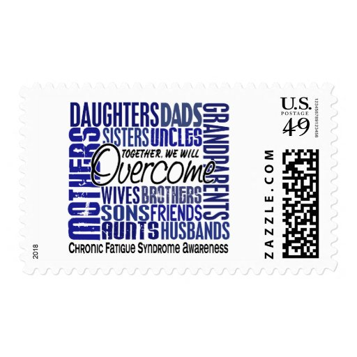 Family Square CFS Chronic Fatigue Syndrome Postage