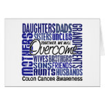 Family Square Colon Cancer Cards