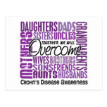 Family Square Crohn's Disease Post Cards