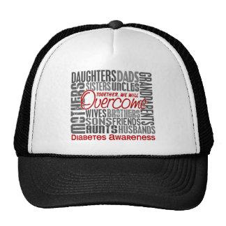 Family Square Diabetes Trucker Hat