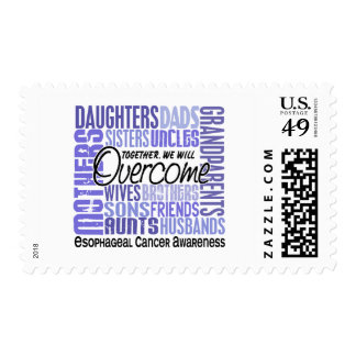 Family Square Esophageal Cancer Stamps