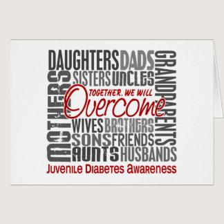 Family Square Juvenile Diabetes Card