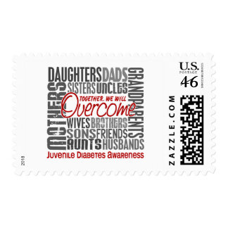 Family Square Juvenile Diabetes Postage