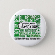 Family Square Kidney Disease Button