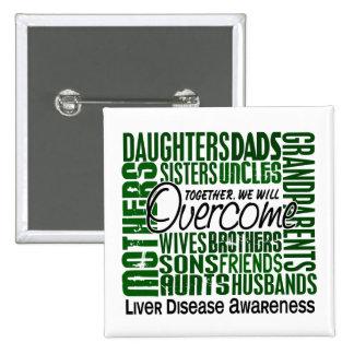 Family Square Liver Disease Button