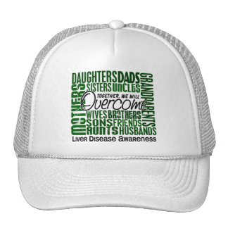 Family Square Liver Disease Hats
