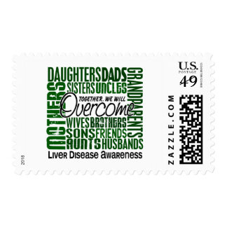 Family Square Liver Disease Stamps