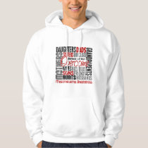 Family Square Mesothelioma Hoodie