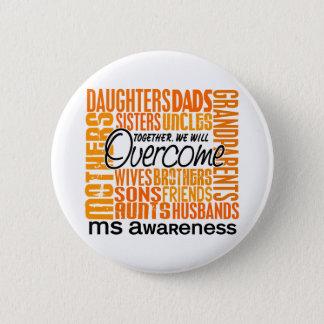 Family Square MS Button