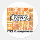 Family Square MS Sticker