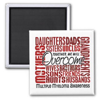Family Square Multiple Myeloma Magnet