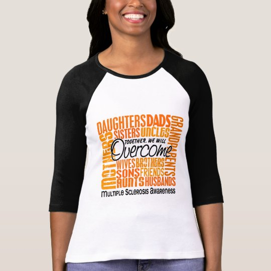 Family Square Multiple Sclerosis T-Shirt