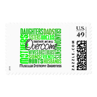 Family Square Muscular Dystrophy Postage