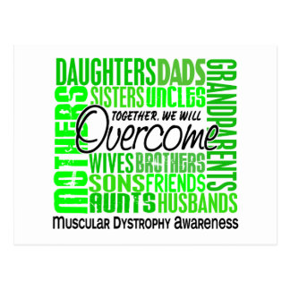 Family Square Muscular Dystrophy Postcard
