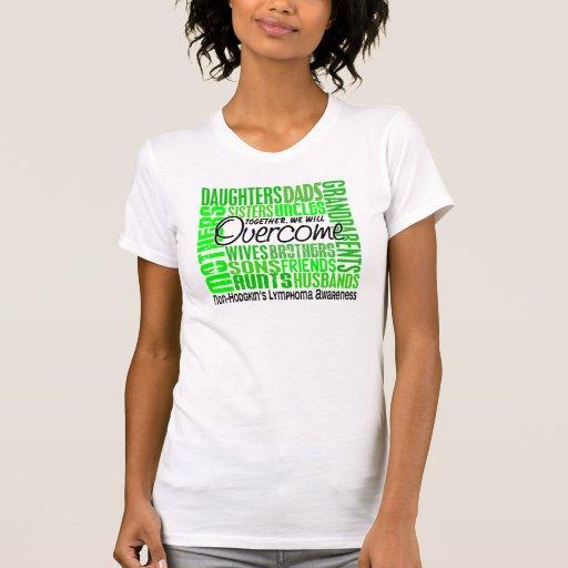 Family Square Non-Hodgkin's Lymphoma T Shirt