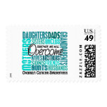 Family Square Ovarian Cancer Stamp