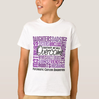 Family Square Pancreatic Cancer T-Shirt