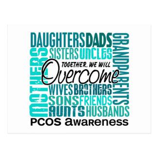 Family Square PCOS Postcards