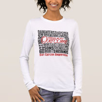 Family Square Skin Cancer Long Sleeve T-Shirt
