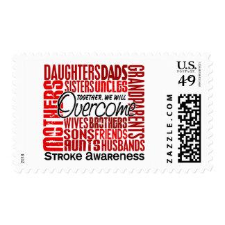 Family Square Stroke Stamps