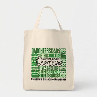 Family Square Tourette's Syndrome Tote Bag